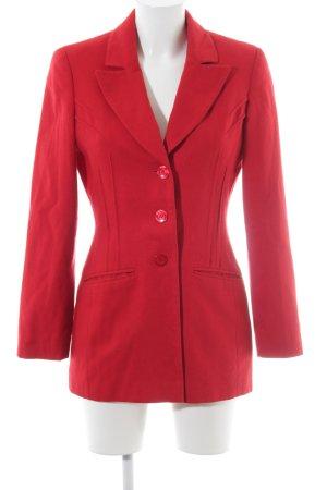 Apart Impressions Blazer en laine rouge style décontracté
