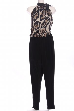 Apart Jumpsuit Animalmuster Casual-Look