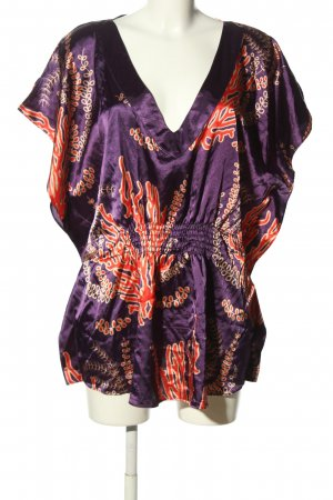 Apart Blusa kimono motivo astratto stile casual