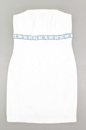 Apart Vestido blanco puro acetato