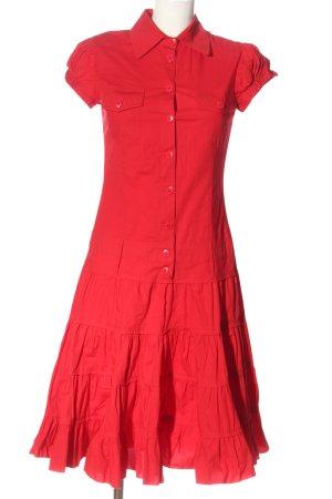 Apart Robe à manches courtes rouge style décontracté