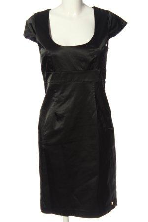 Apart Kurzarmkleid schwarz Elegant