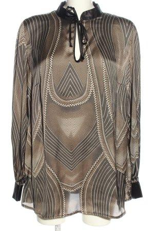 Apart Bluzka z długim rękawem Melanżowy W stylu casual