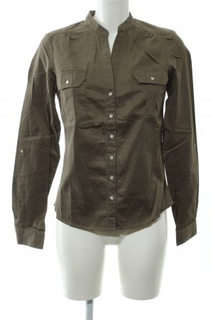 Apart Long Sleeve Blouse green grey casual look