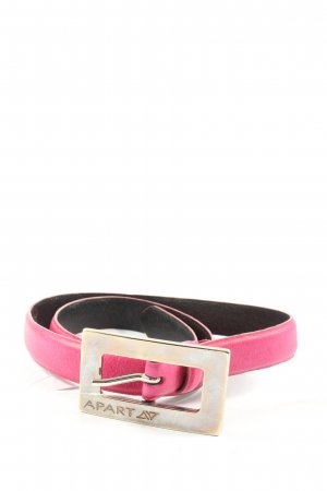 Apart Leather Belt pink casual look