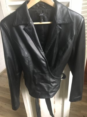 Apart Leather Jacket black