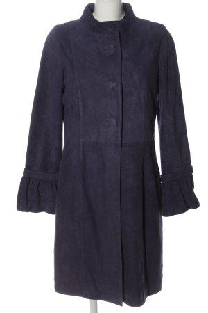 Apart Skórzany płaszcz niebieski W stylu casual