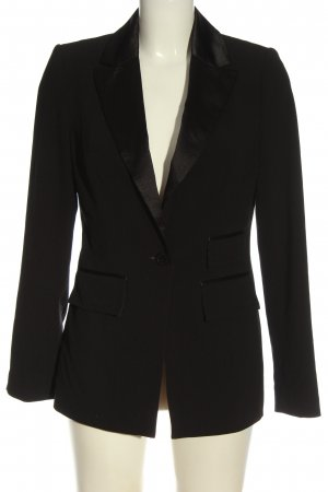 Apart Long Blazer black business style
