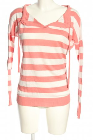 Apart Longsleeve pink-natural white allover print casual look