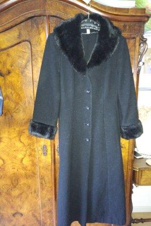 Apart Wool Coat black wool