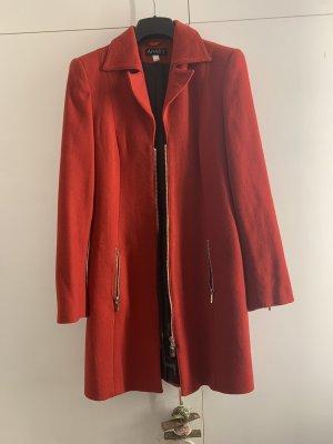 Apart Wollen jas rood