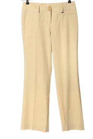 Apart Pantalone jersey crema stile casual