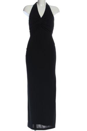 Apart Maxi abito nero stile casual