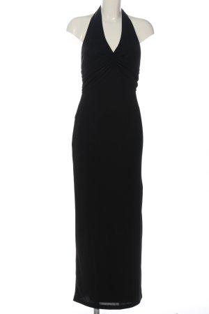 Apart Maxi abito nero elegante