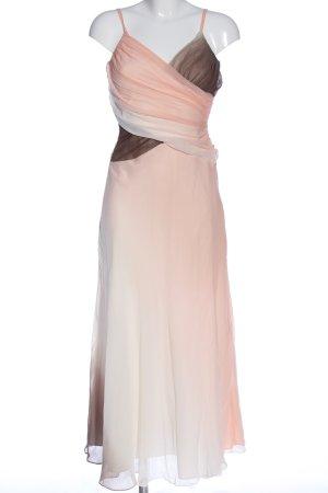 Apart Sukienka maxi brązowy-różowy Gradient Elegancki