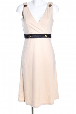 Apart Midi Dress cream-black business style