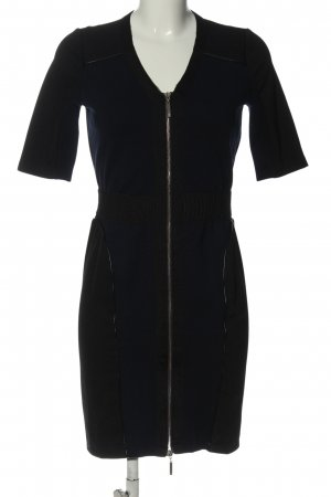 Apart Sukienka mini niebieski-czarny W stylu casual