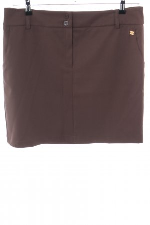 Apart Miniskirt brown business style