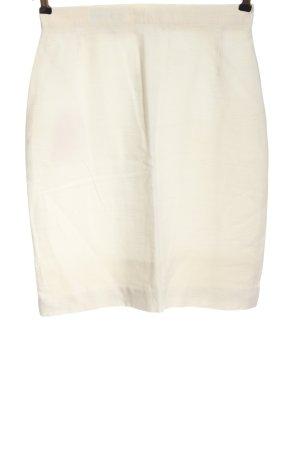Apart Mini-jupe blanc cassé style décontracté