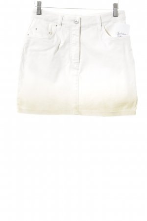 Apart Minirock weiß-sandbraun Farbverlauf Casual-Look