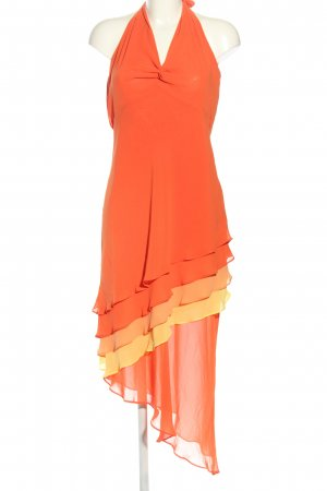 Apart Halter Dress light orange elegant
