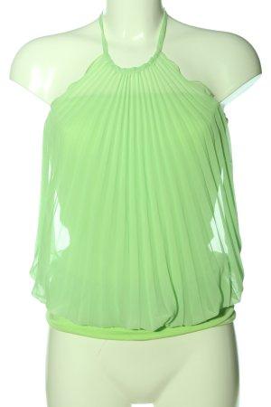 Apart Top z dekoltem typu halter zielony W stylu casual