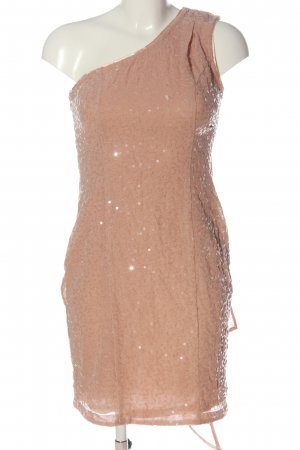 Apart One Shoulder Dress nude extravagant style