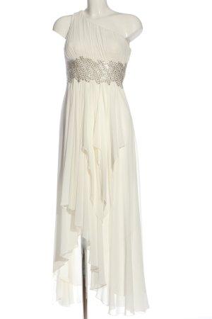 Apart Robe asymétrique blanc élégant