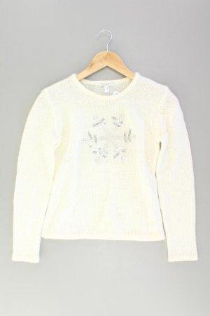 Apart Pullover Größe 34 creme aus Polyamid