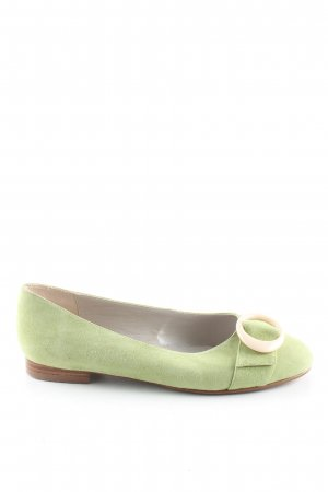 Apart Riemchen Ballerinas grün Casual-Look