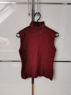Apart Neckholder Top purple