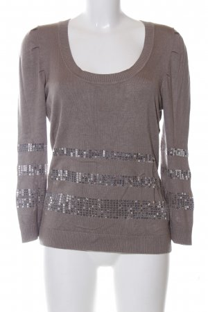 Apart Crewneck Sweater brown casual look