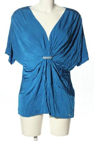 Apart Schlupf-Bluse blau Business-Look