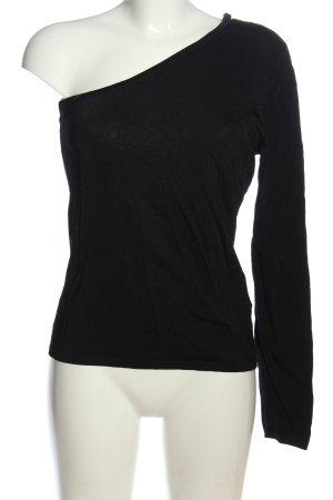 Apart Slip-over blouse zwart casual uitstraling