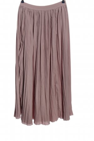 Apart Pleated Skirt pink casual look