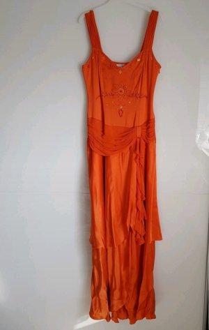 Apart Vestido de cóctel naranja