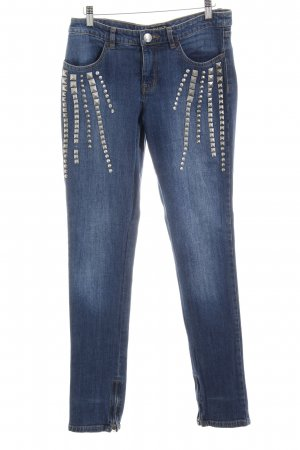 Apart Jeans skinny blu acciaio stile casual