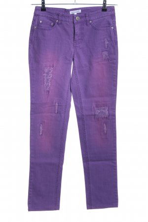 Apart Slim jeans lila casual uitstraling