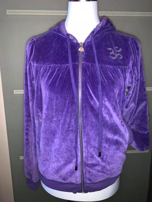 Apart Sport Sweat Jacke in gr 38 Farbe Lila Nicki Strass
