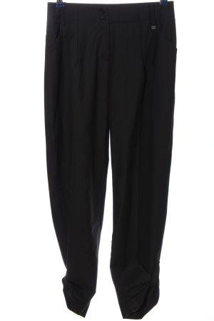 Apart Spodnie materiałowe czarny W stylu biznesowym