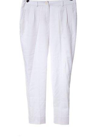 Apart Pantalon en jersey blanc style d'affaires
