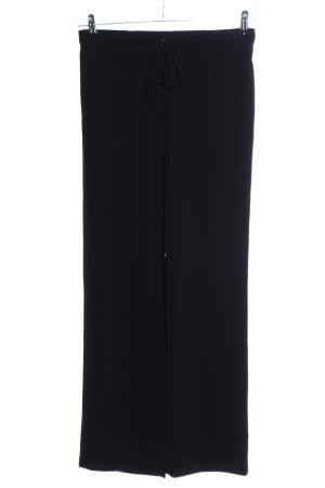 Apart Pantalone jersey nero stile casual