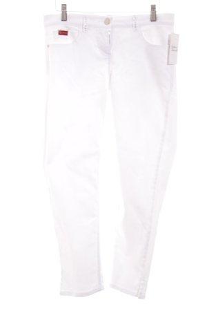 Apart Jeansy z prostymi nogawkami biały W stylu casual