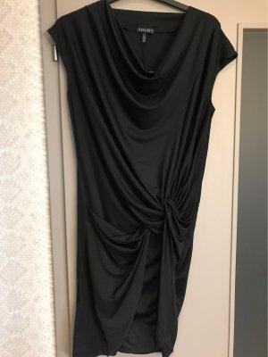 Apart Sukienka ze stretchu czarny Poliester