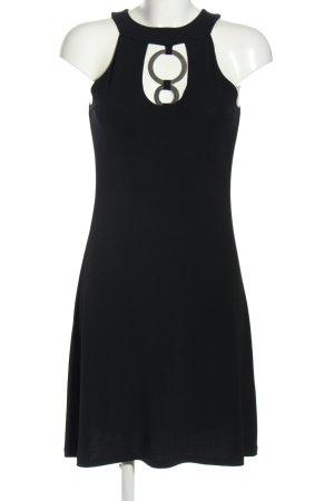 Apart Vestido elástico negro estilo «business»