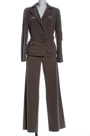 Apart Twin set in maglia marrone stile casual