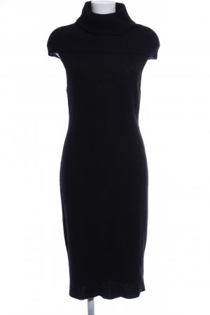 Apart Knitted Dress black casual look