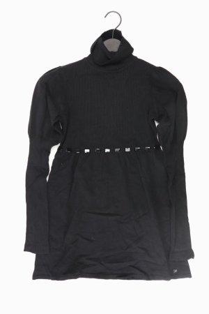 Apart Abito di maglia nero Nylon