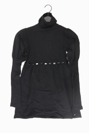 Apart Vestido tejido negro Nailon