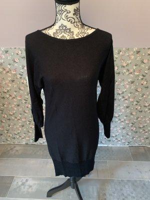 Apart Robe en maille tricotées noir